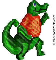gator, ピクセル