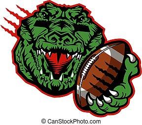 gator, フットボール