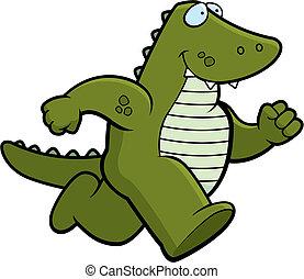 gator, 動くこと