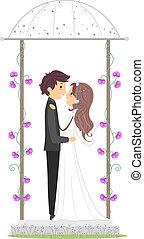 gazebo, 新婚者