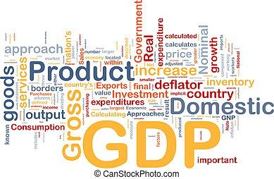 gdp, 概念, 背景, 経済