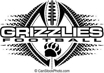 grizzlies, フットボール