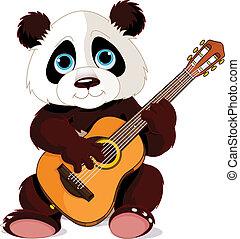 guitarist, パンダ