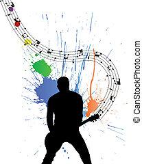 guitarist, 岩