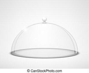 half-sphere, ガラス, 透明