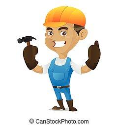handyman, ハンマー, 保有物