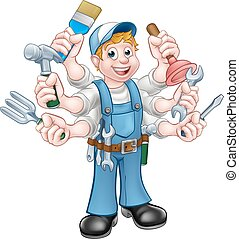 handyman, 漫画