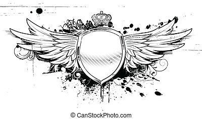 heraldic, グランジ, 保護