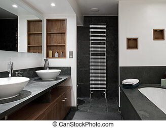 hers, 浴室, 彼の, 流し, 贅沢