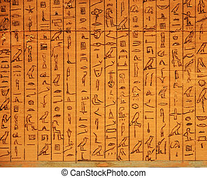 hieroglyphic, パネル