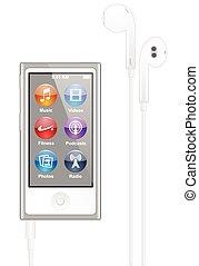 ipod, アップル, nano