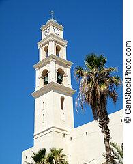 jaffa, ピーター, st., 教会, タワー, 2011