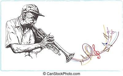 jazzman, トランペット奏者