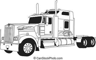 kenworth, トラック