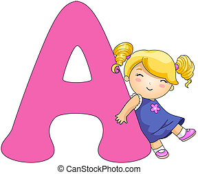 kiddie, アルファベット