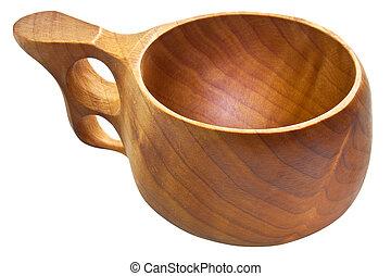 kuksa, フィンランド, カップ, 木製である, -, 伝統的である