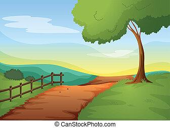 landcape, 田園