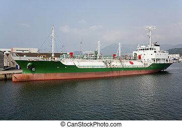 lpg, 貨物船, つながれる