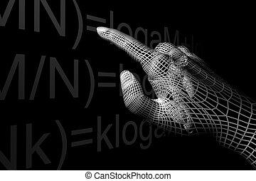 mathemathics, 手