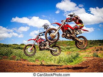 motocross, ライダー