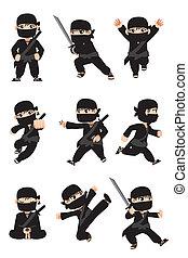 ninja, 子供