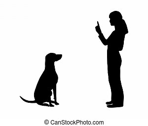 (obedience):, 訓練, command:, 犬, 座りなさい