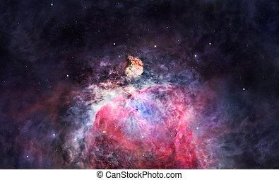 orion の星雲, スペース