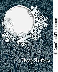ornament., クリスマスカード
