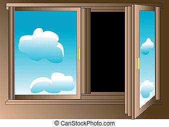 pessimist's, 窓
