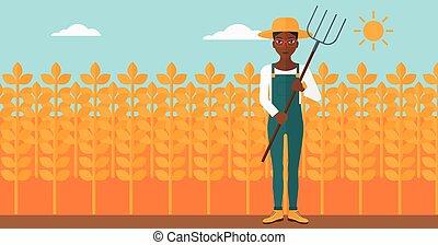 pitchfork., 農夫