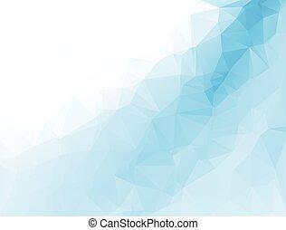polygonal, ベクトル, 背景, テンプレート, モザイク, ビジネス, デザイン, イラスト