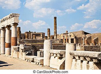 pompeii, -, サイト, 考古学的