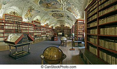 prague-baroque, 図書館