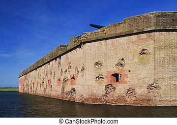 pulaski, 城砦