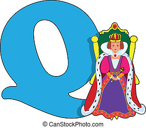 q, 女王, 手紙