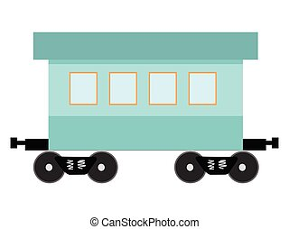railcar, イラスト, ベクトル