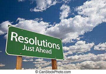 resolutions, 緑, 道 印