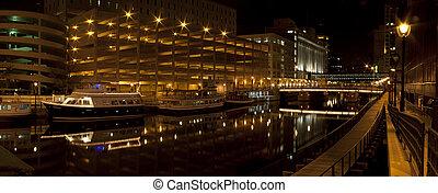 riverwalk, ミルウォーキー, 川