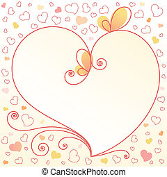 romantic-floral-background-with-heart