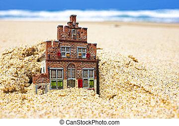 sand., 姿を消す, 家