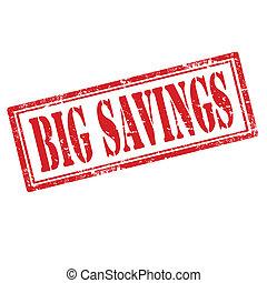 savings-stamp, 大きい