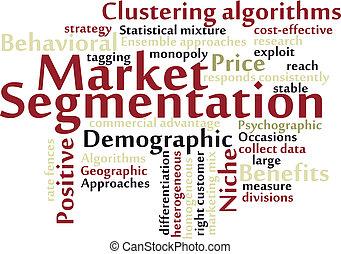 segmentation, 市場