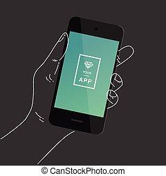smartphone, 手
