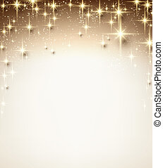sparkles., クリスマス, 星が多い, 背景