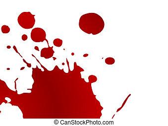 splat, 血