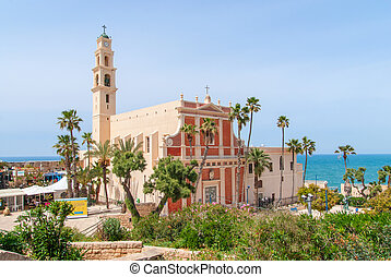 st. ピーター, church., イスラエル, jaffa