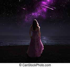 stars., 女, 射撃