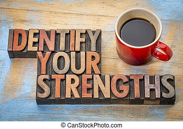 strengths, 識別しなさい, あなたの