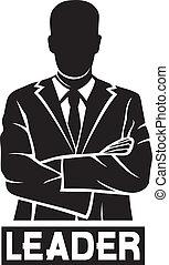 (successful, businessman), リーダー