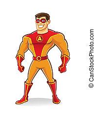 superhero, ハンサム